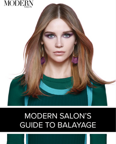 Modern Salon's Guide to Balayage