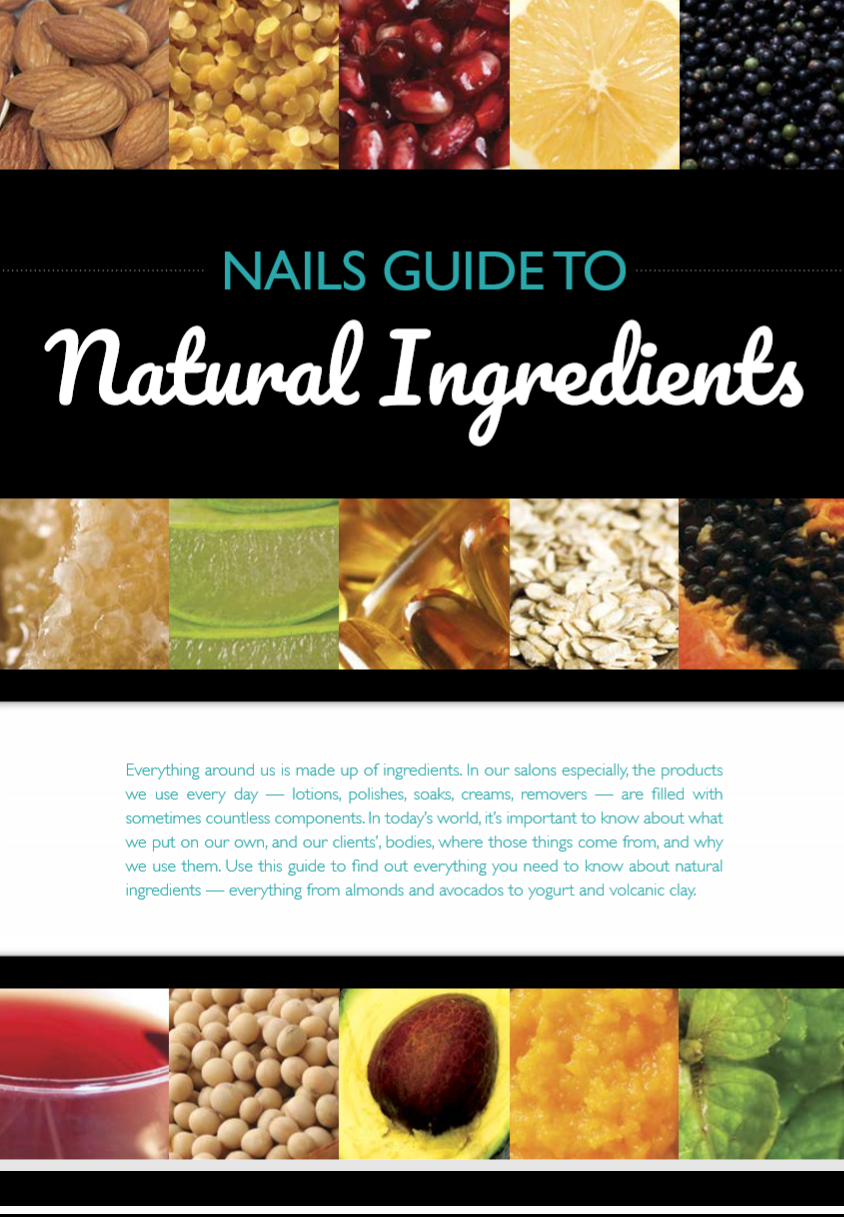 NAILS Guide to Natural Ingredients