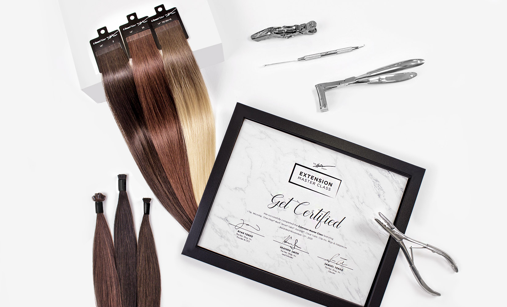 The Hair Shop's Extension Master Class + Kit