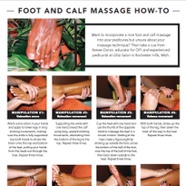 Foot and Calf Massage How-To
