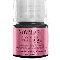 Dry Lash Extensions Faster with NovaLash's Royal Platinum Bond