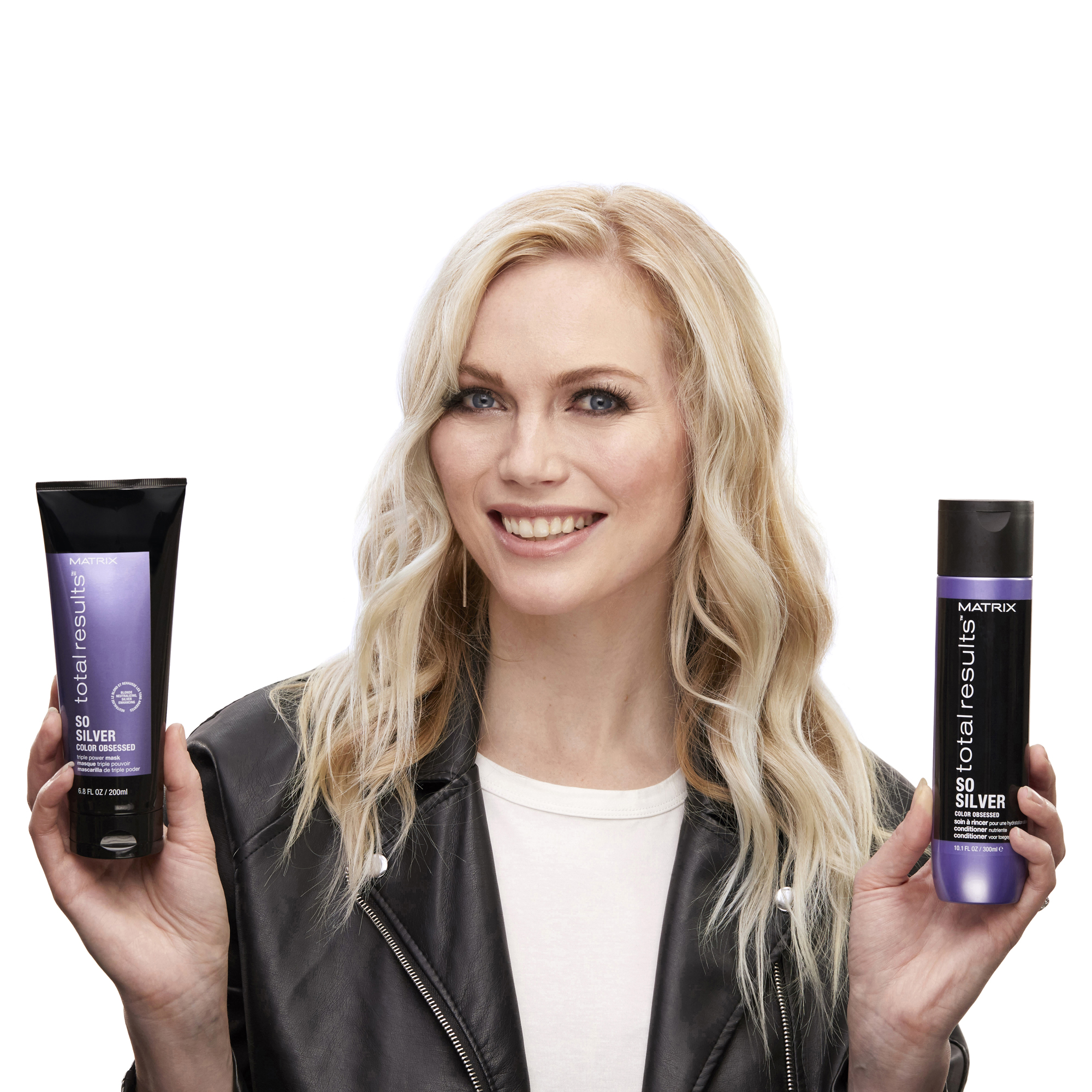 Matrix Completes Total Results So Silver Line with Conditioner and Triple Power Mask