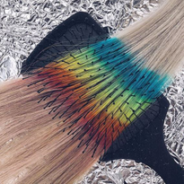 How to Color Rainbow Extensions