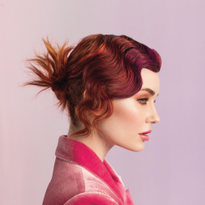 Hair: Teri Dougherty, Michael Dueñas and Peggy Wright for Aloxxi Photographer: Maarten de Boer