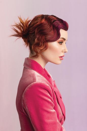 Hair: Teri Dougherty, Michael Dueñas and Peggy Wright for Aloxxi