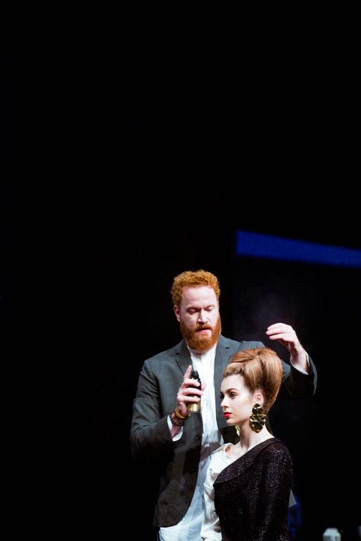 <p>Adam Livermore presents at the 2019 Oribe Atelier.</p>