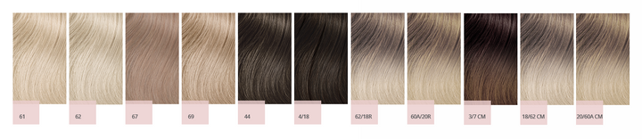 Set the tone with Hairtalk's 11 new tape-in extension cool, neutral and warm shades. 