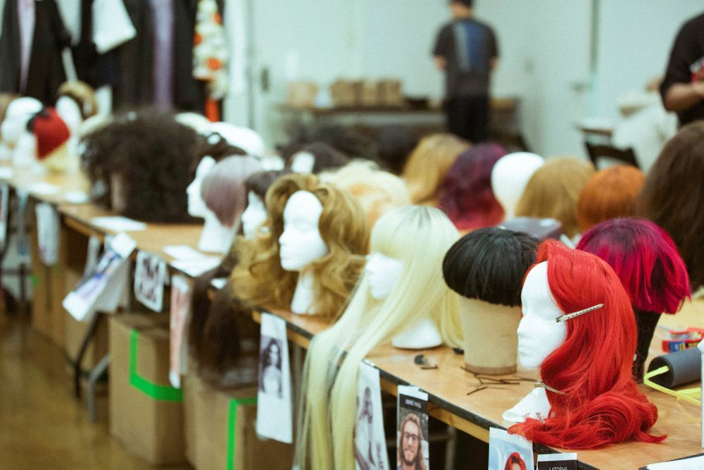 <p>Wigs used to honor Oribe Canales, presented at the 2019 Oribe Atelier.</p>