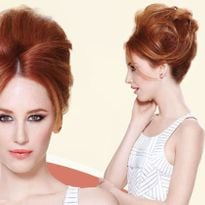 Sophisticated Textured Updo How-To