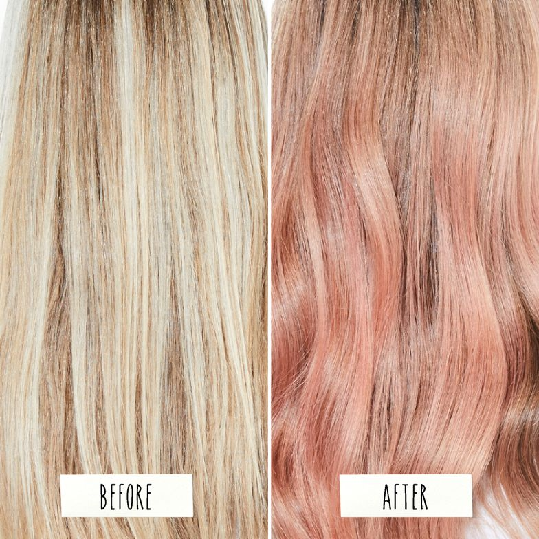 <p><strong>This rose gold hair color hue was created with Biolage Color, a new, plant-based range that&rsquo;s easy on the hair and easy on the earth.</strong></p>