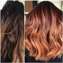 Makeover by Danielle Fusco, using Malibu C and Joico.