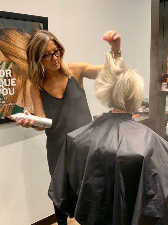 <p>Cynthia Alex of Keema Salon says her eco-friendly Easydry towel service saves time and resources and aligns with her Aveda Lifestyle Salon mission.</p>