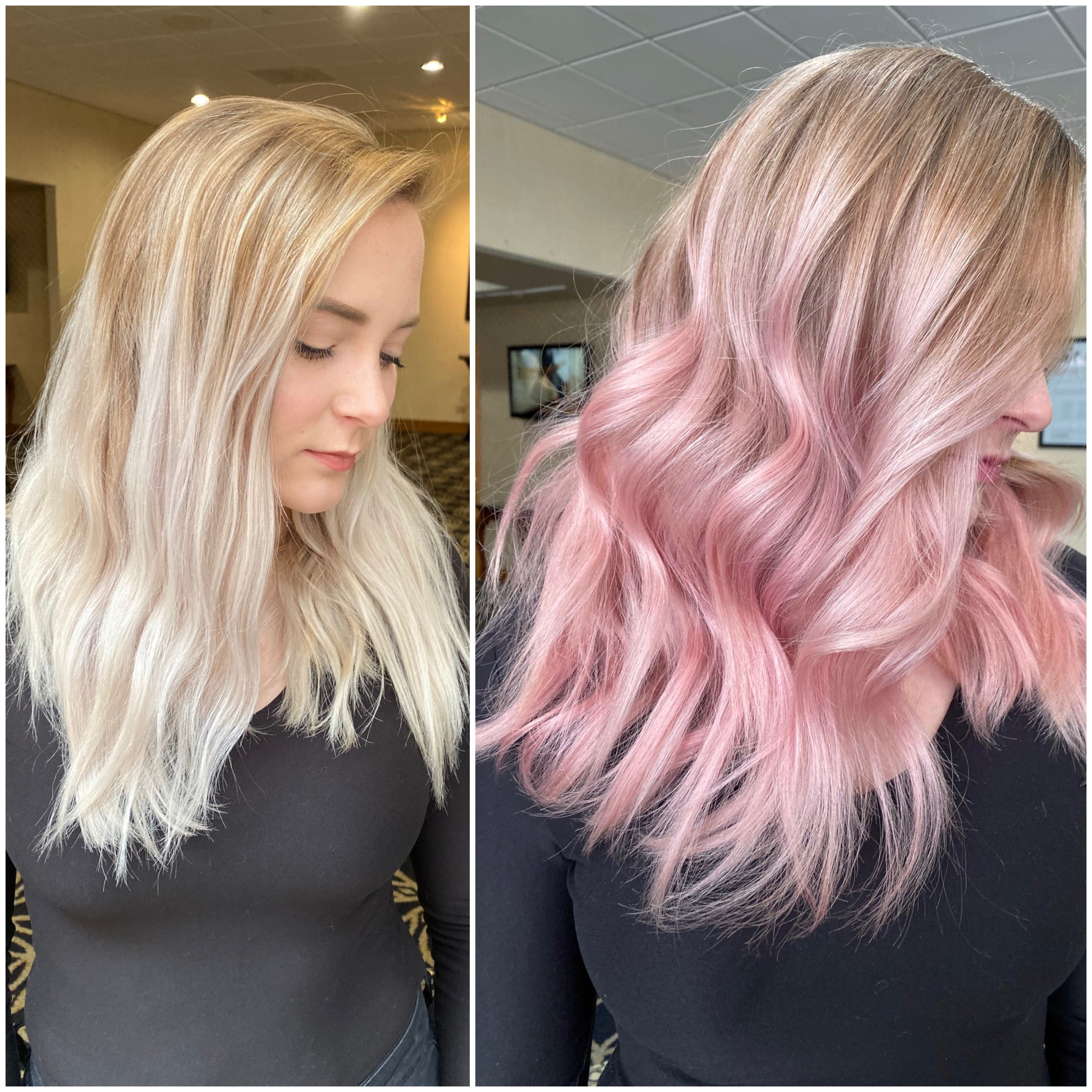 Easy Peasy to Pastel Pink