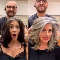 @jackmartincolorist strikes again. In this transformation, he helps his client embrace her...