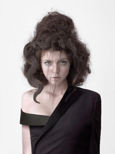 Hair by Marie Simone  - Photo by Roberto Ligresti