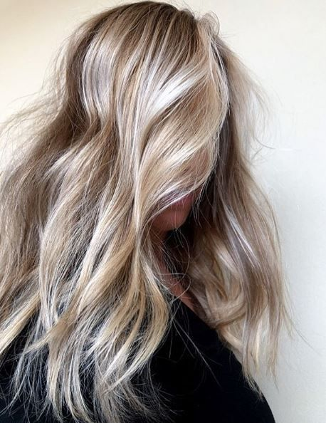 <p>Meg Moran @megahairmanic creates beautiful blondes by incorporating lowlighting and simple balayage placement.&nbsp;</p>