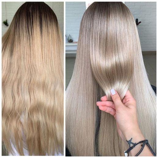 Hair color makeover by Anastasia Petrova.  -