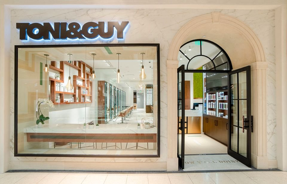 <p>TONI&amp;GUY Galleria, Dallas</p>