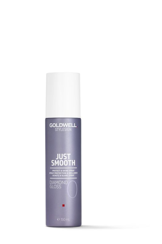 <p>&ldquo;I love to use <strong>Goldwell StyleSign Just Smooth Diamond Gloss</strong> for the perfect finish to a smooth and shiny holiday style. Perfect for adding shine, fighting frizz and creating perfectly smooth braids, buns or twists.&rdquo; - Steven Picciano, Goldwell National Artist</p>
