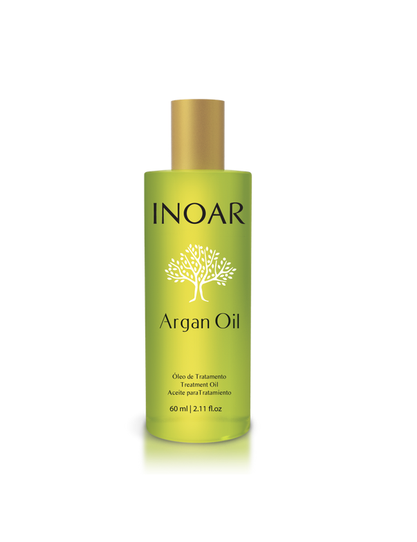 <p>&ldquo;Inoar Argan Oil is rich in antioxidants and vitamins that stimulate shine. In addition to being used in all chemical procedures and treatments such as coloring, discoloration, straightening, and humectation, it is good for any beauty ritual such as for curl definition, a glossy ponytail and structured hair styles.</p>