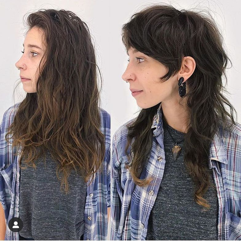 <p>Mullet Makeover</p>