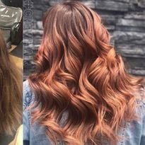 TRANSFORMATION: Blushing Beauty with Redken Formula