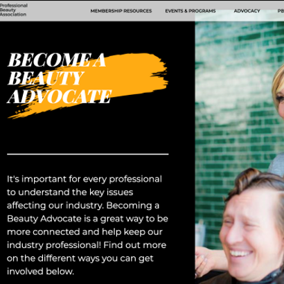 Check It Out! The Professional Beauty Association Launches New Website
