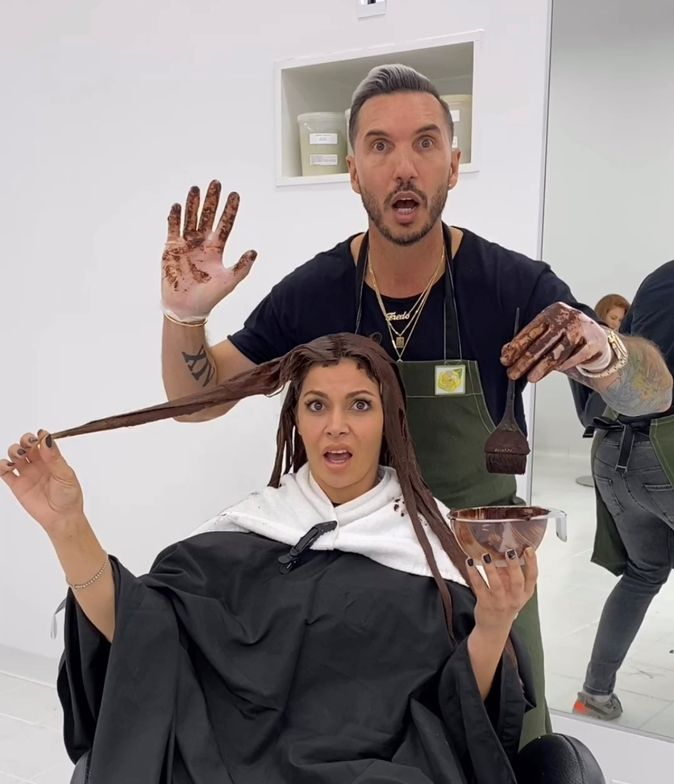 <p><strong>Global educator Alfredo Lewis is blown away by Biolage Color. He recently mixed Carob Brown with Violet Toner to give his client a shade inspired by Kim Kardashian&rsquo;s new chocolate brown.</strong></p>