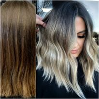 Hair color by Ashlie Marmo