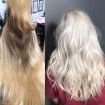 Hair color makeover by Christina Nesse