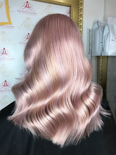 Hair color by George Johnson  -