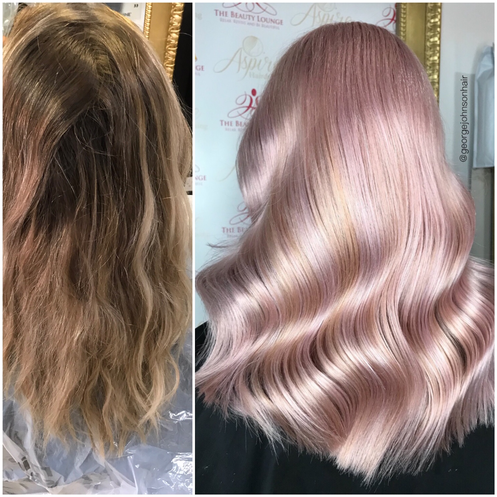 MAKEOVER: From Classic Blonde To Tasteful Pastel Pink