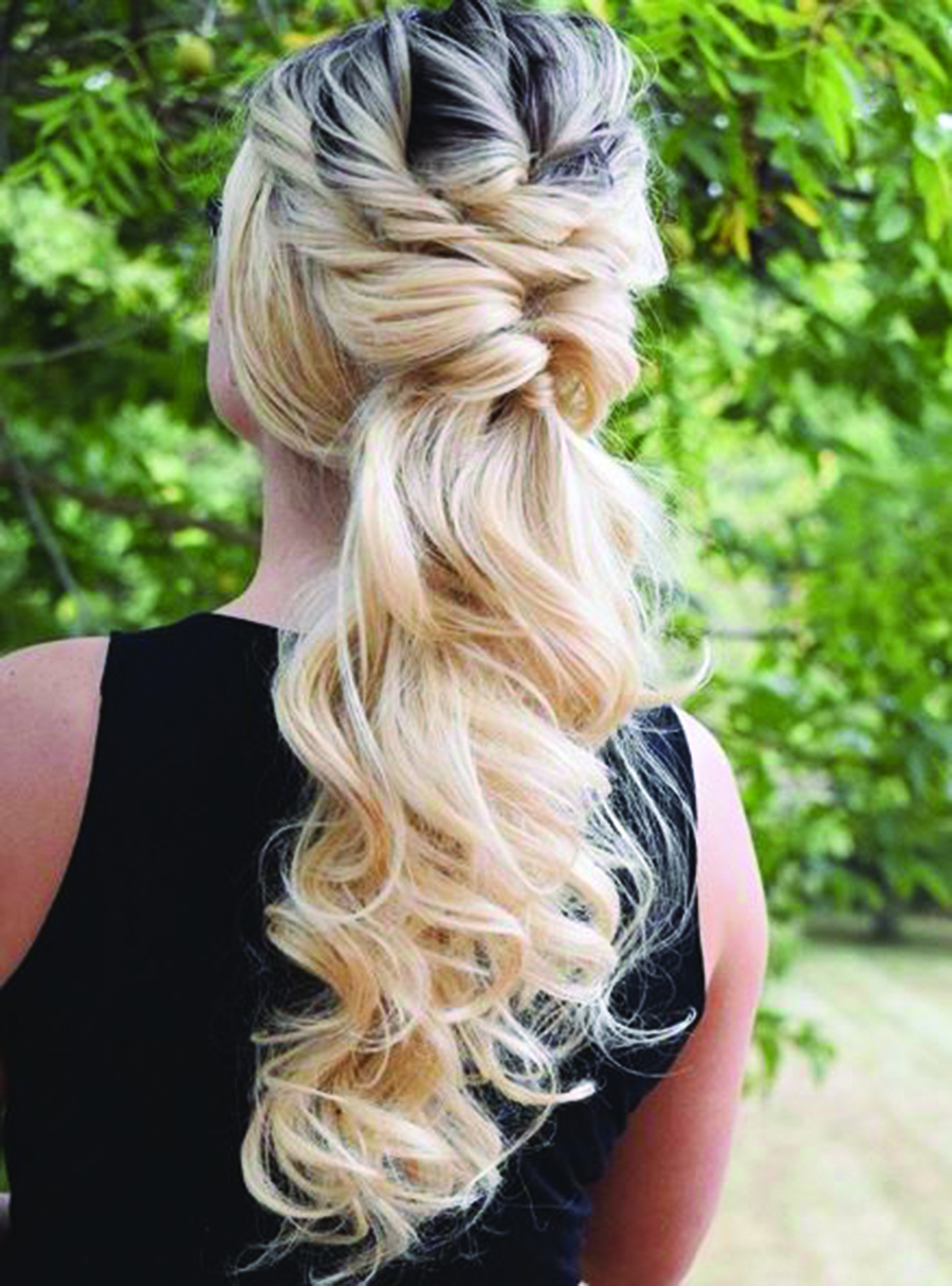 Updo How-To: Twisted Tresses