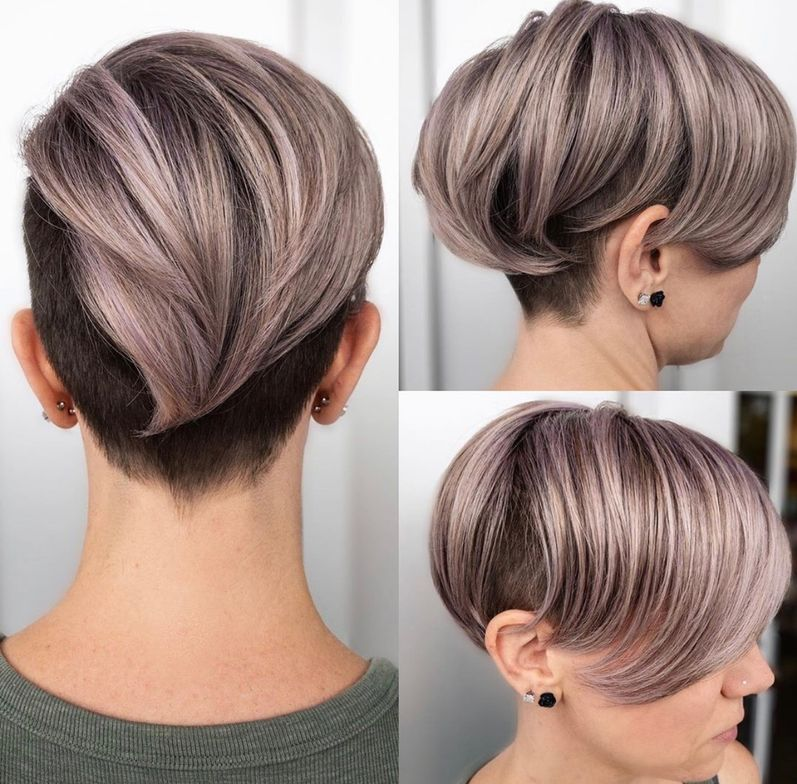 <p>This color is everything to this pixie.</p>