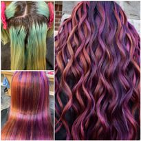Hair color by Josh Boynton