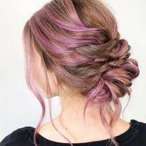 Styling Demo: Pastel Braided Updo