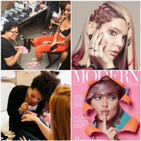 Joanne Sorbello and Armani Je'ton create beautiful nail art!