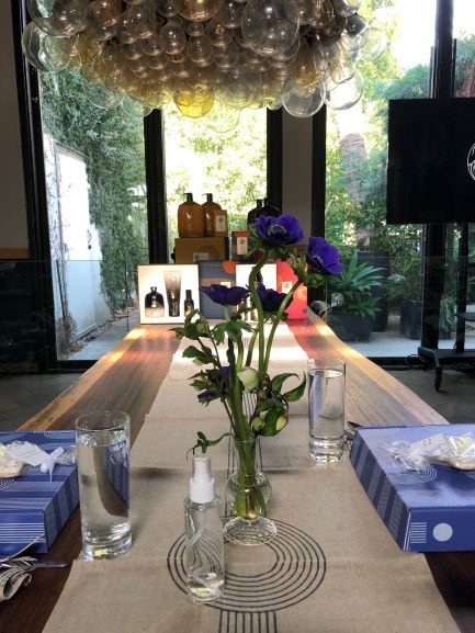 <p>Table runners, cushions, napkins --Norah was decked out with designs from Block Shop.&nbsp;</p>