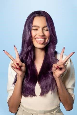 Purple People Pleaser  - Photo Courtesy of Pravana