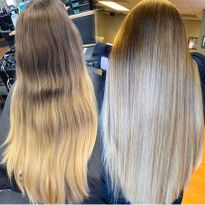 Hair color makeover by Montana Schmidt