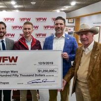 Sport Clips Haircuts' $1.25M donation to VFW