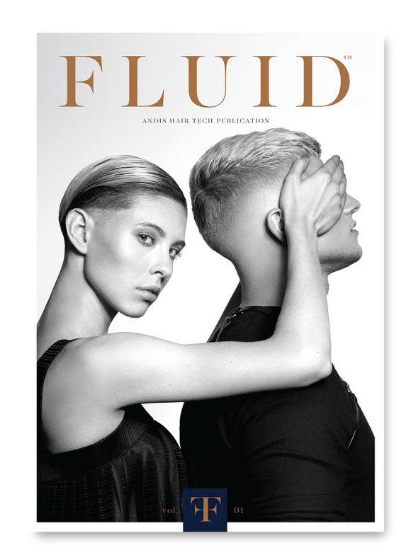 "<p>FLUID is the newest educational look book from <strong>Andis</strong>, created by men&rsquo;s grooming expert and Andis Creative Lead of Global Education <strong>Whitney VerMeer</strong> @whitneyvermeer. Every look demonstrates the artistry and versatility of precision-cut styles. Available at <a href=""https://barber-and-beauty.andis.com/product/fluid-volume-i-book/?item-no=12381"" target=""_blank""><strong>andis.com</strong></a>.</p>"