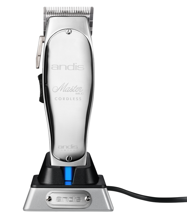 <p>To support precision work, Andis has cut the cord on its iconic clipper. The new Master Cordless Lithium Ion Clipper features a lithium-ion battery that runs for 90 minutes. What&rsquo;s more, it&rsquo;s 35 percent lighter than the corded version, but with the same balance and feel.</p>