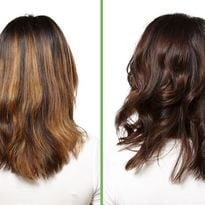 Before and after. This brass-busting tonal correction was achieved with Biolage Color, a new...