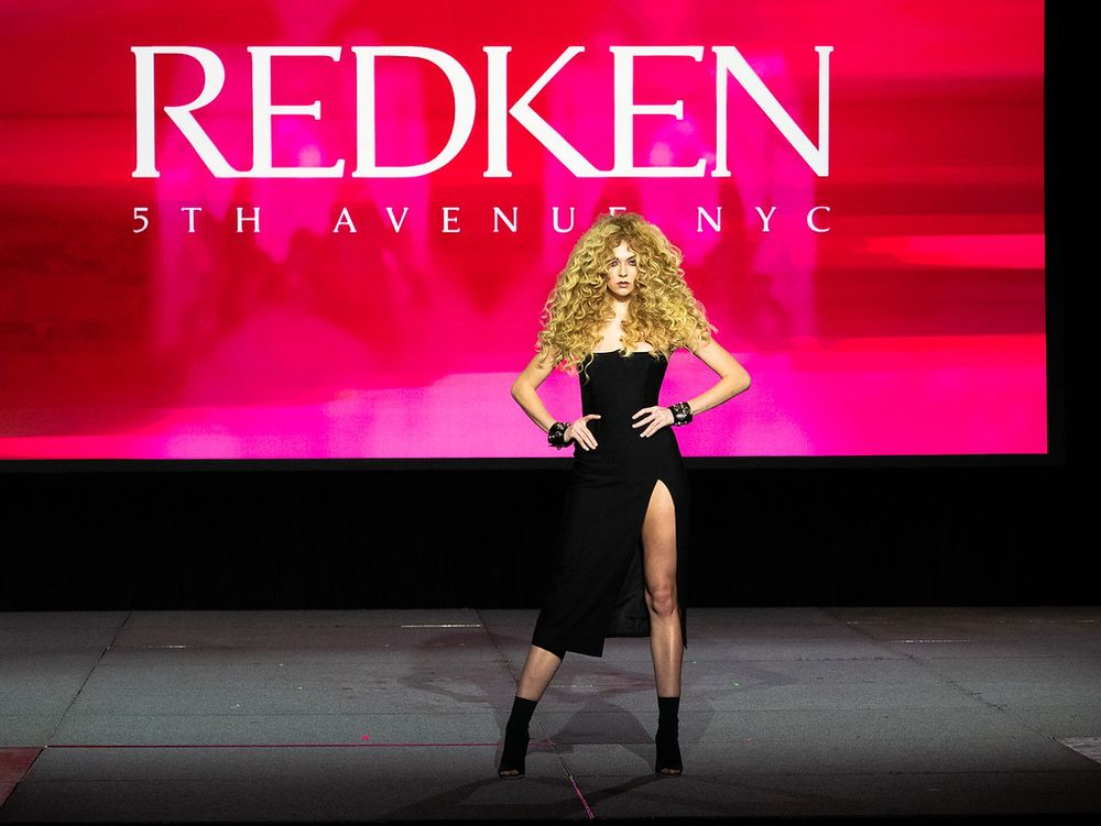 <p>At a Redken Mainstage Presentation</p>