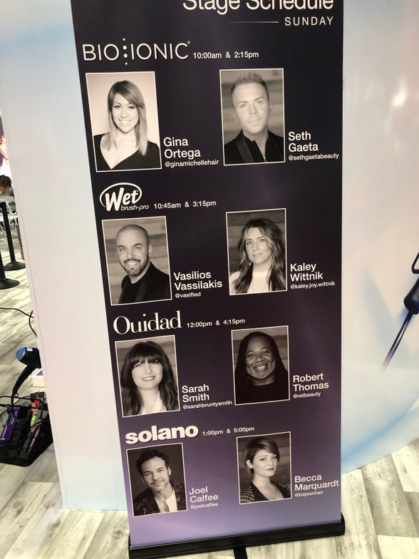 <p>Artists from the different brands were all on stage at the BBI booth.&nbsp;</p>