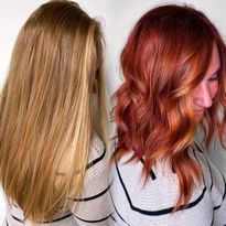 Color Transformation How-To: From Virgin Blonde Hair to Vibrant Red