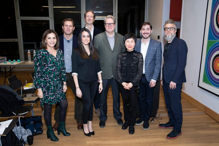 Members of the judging panel included Moroccanoil co-founder Carmen Tal,Sustainability Manager Bryan Zimmerman and Robert Kirkbride, Parsons School of Constructed Environments Dean