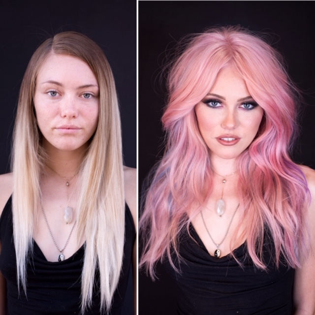 LOVELY MAKEOVER To Cotton Candy Shag