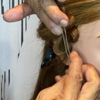 Watch How Sam Villa Creates a Hair Accessory Using Two Items Already in Your Kit